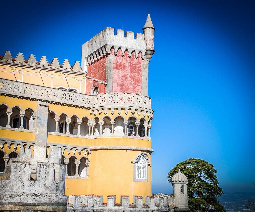 Städtetrip nach Lissabon - Hügel, Fluss und Mee(h)r - Palácio Nacional de Pena (c) Verena Berbüsse für www.reise-berichten.de