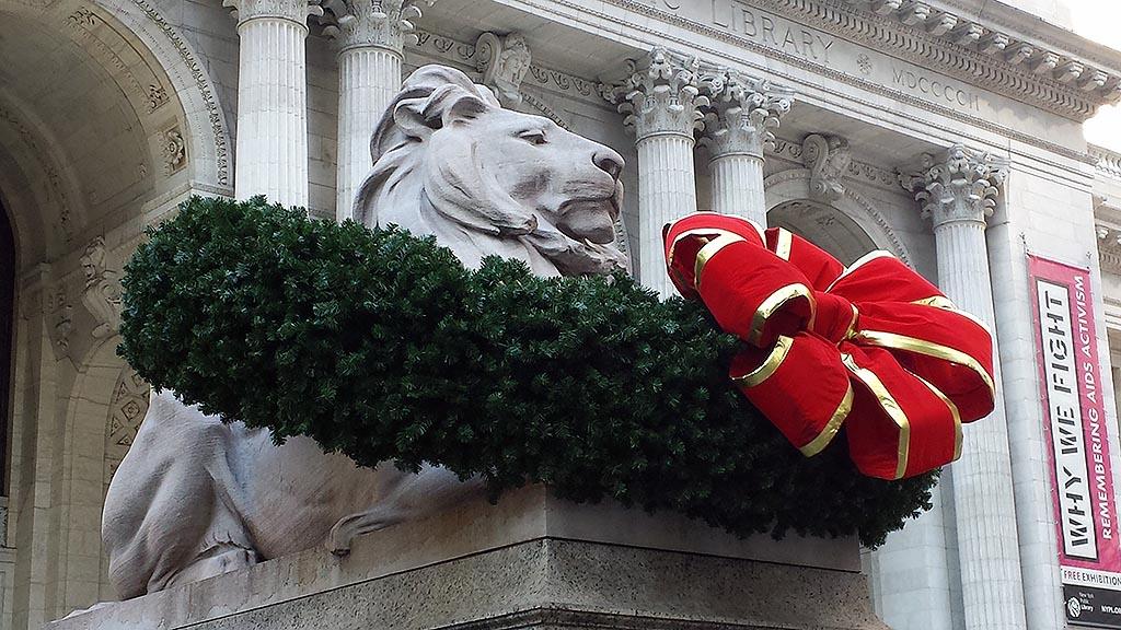 New York Public Library im Dezember 2013