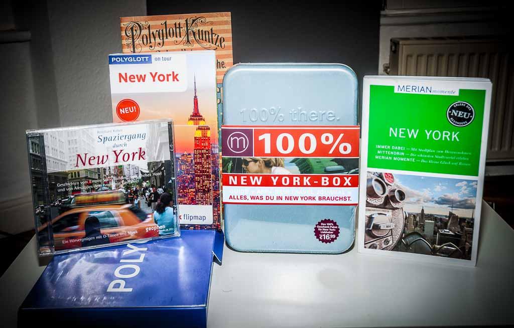 New York Gewinnspiel – Mitmachen und tolle New York Reiseführer Pakete gewinnen - 1