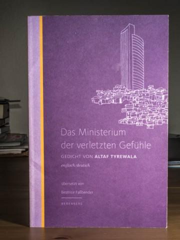 Rezension - Altaf Tyrewala - Das Ministerium der verletzten Gefühle - Berenberg Verlag - (c) 2014 Sven Giese - www.reise-berichten.de