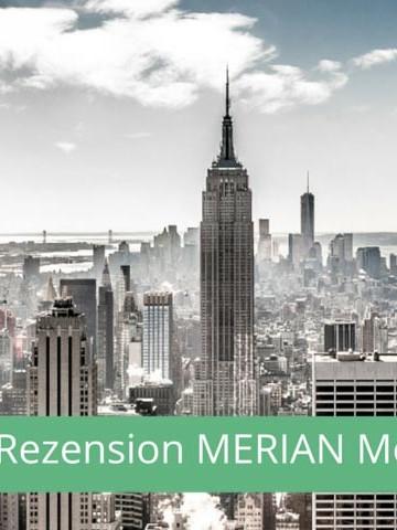 New York Reiseführer im Test - Merian Momente New York - Titel (c) 2014 www.reise-berichten.de
