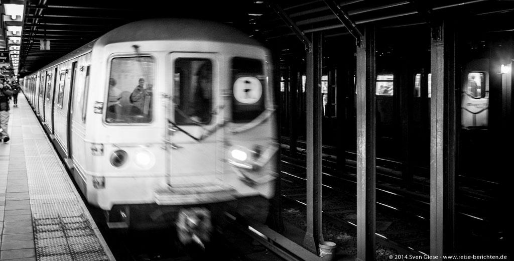 New York - Mit der NYC Subway Art Tour durch das größte Kunstmuseum der Welt – die New Yorker U-Bahn - reise-berichten.de - 1
