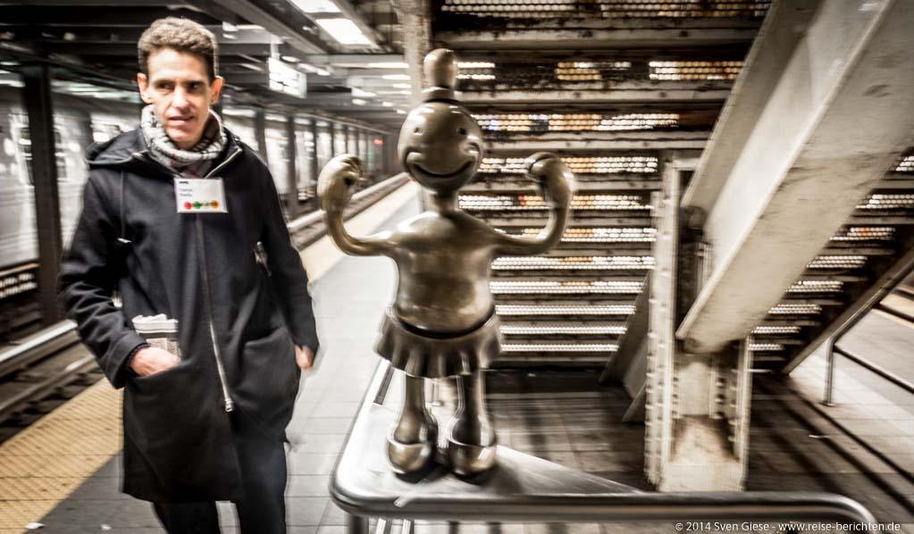 New York - Mit der NYC Subway Art Tour durch das größte Kunstmuseum der Welt – die New Yorker U-Bahn - reise-berichten.de - 14
