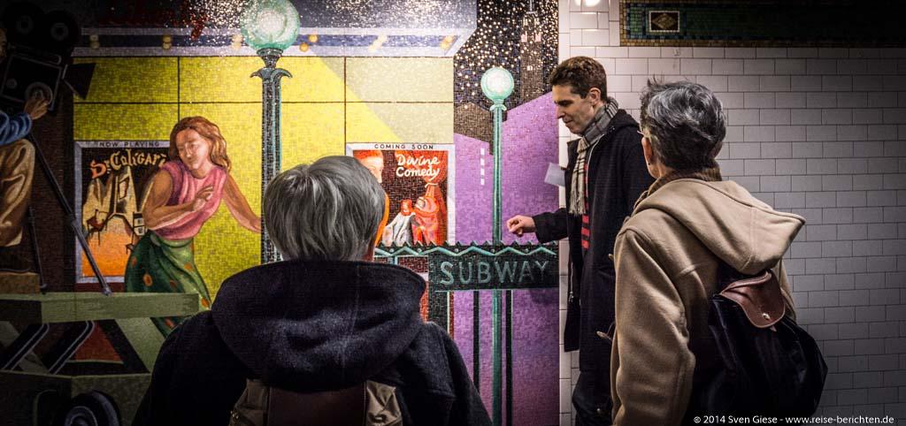 New York - Mit der NYC Subway Art Tour durch das größte Kunstmuseum der Welt – die New Yorker U-Bahn - reise-berichten.de - 4