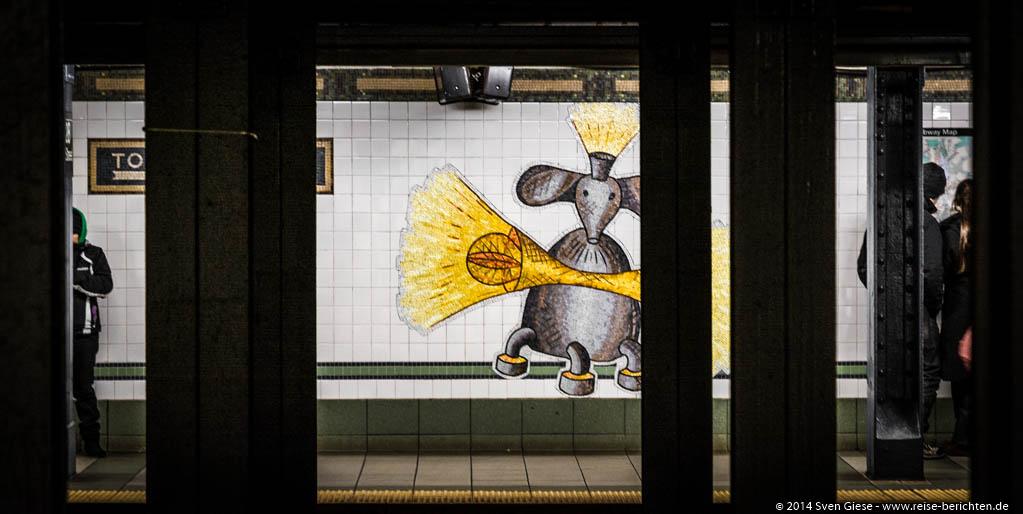 New York - Mit der NYC Subway Art Tour durch das größte Kunstmuseum der Welt – die New Yorker U-Bahn - reise-berichten.de - 5